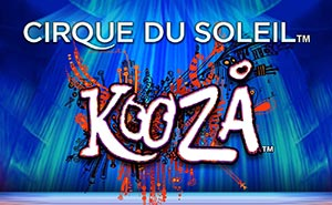 Cirque de Soleil Kooza mobile slot