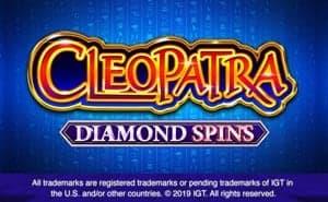 cleopatra diamond spins slot game