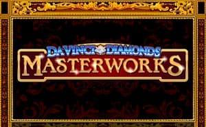 Da Vinci Diamonds Masterworks casino game